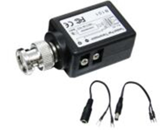 single channel POWER & VIDEO transmitter and receiver with LED light