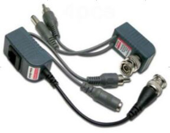 1CH VIDEO AUDIO and POWER BALUN