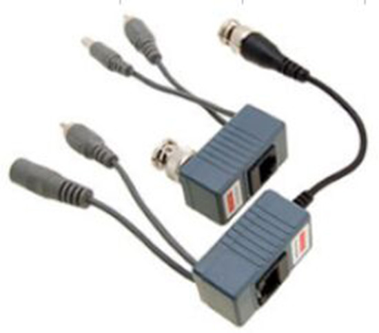 1CH AUDIO VIDEO and POWER BALUN